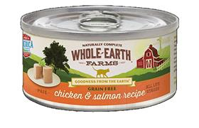 Merrick Whole Earth Farms Chicken Salmon Cat