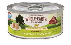 Merrick Whole Earth Farms Chicken Turkey Cat