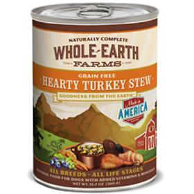 Merrick Whole Earth Farms Grain Free Hearty Turkey Stew