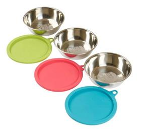 Messy Mutts Bowl Stainless Steel Set