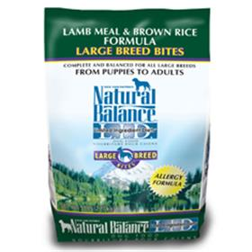 Natural Balance Lamb Meal and Brown Rice Large Breed Bites