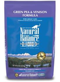 Natural Balance Limited Ingredient Diets Green Pea and Venison Dry Cat Food