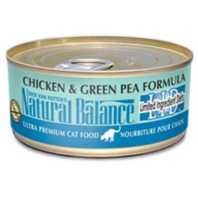 Natural Balance Limited Ingredient Green Pea and Chicken Cat Cans