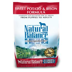 Natural Balance Sweet Potato and Bison