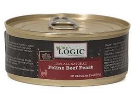 Natures Logic Feline Beef Feast Grain Free Canned Cat Food