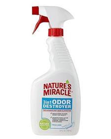 Natures Miracle Fresh Linen 3 in 1 Odor Destroyer
