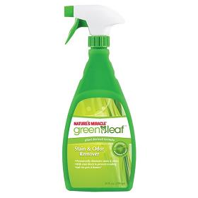 Natures Miracle Green Leaf Stain and Odor Remover Unscented