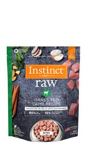 Natures Variety Instinct 85 15 Raw Grass Fed Lamb Recipe for Dogs Bites