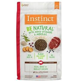 Natures Variety Instinct Be Natural Real Beef and Barley Recipe Dry Dog Food