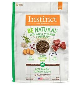 Natures Variety Instinct Be Natural Real Lamb and Oatmeal Recipe Dry Dog Food