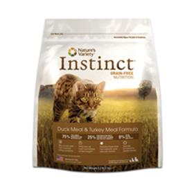 Natures Variety Instinct Duck and Turkey Dry Cat Food
