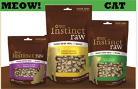 Natures Variety Instinct Freeze Dried Raw Lamb Cat Food