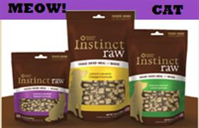 Natures Variety Instinct Freeze Dried Raw Rabbit Cat Food
