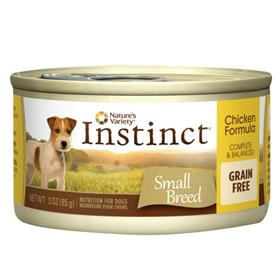 Natures Variety Instinct Grain Free Chicken Small Breed Dog Food