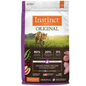 Natures Variety Instinct Original Grain Free Recipe with Real Rabbit for Cats