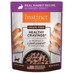Natures Variety Instinct Healthy Craving Cat LID Rabbit