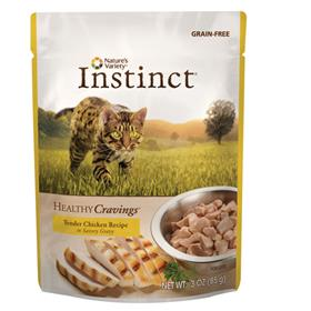 Natures Variety Instinct Healthy Cravings Cat Food Topper Chicken