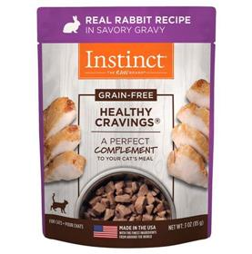 Natures Variety Instinct Healthy Cravings Cat Food Topper Rabbit