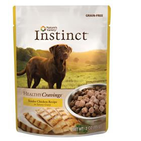 Natures Variety Instinct Healthy Cravings Dog Food Topper Chicken