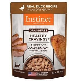 Natures Variety Instinct Healthy Cravings Duck Recipe Wet Cat Food Topper