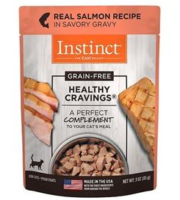 Natures Variety Instinct Healthy Cravings Salmon Recipe Wet Cat Food Topper