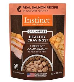 Natures Variety Instinct Healthy Cravings Salmon Recipe Wet Dog Food Topper