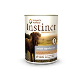 Natures Variety Instinct LID Turkey Canned Dog Food