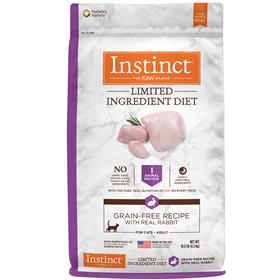 Natures Variety Instinct Limited Ingredient Diet Grain Free Recipe with Real Rabbit for Cats