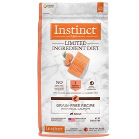 Natures Variety Instinct Limited Ingredient Diet Grain Free Recipe with Real Salmon