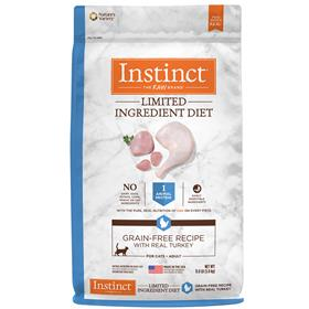 Natures Variety Instinct Limited Ingredient Diet Grain Free Recipe with Real Turkey for Cats