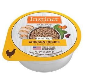 Natures Variety Instinct Minced Chicken Recipe Wet Cat Food