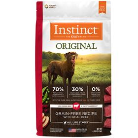 Natures Variety Instinct Original Grain Free Recipe with Real Beef