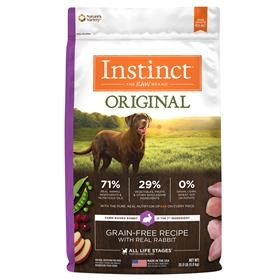 Natures Variety Instinct Original Grain Free Recipe with Real Rabbit