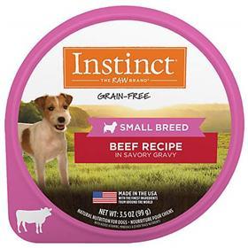 Natures Variety Instinct Original Small Breed Beef Wet Dog Food
