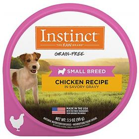 Natures Variety Instinct Original Small Breed Chicken Wet Dog Food