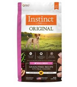 Natures Variety Instinct Original Small Breed Grain Free Recipe with Real Chicken