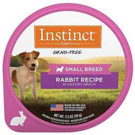 Natures Variety Instinct Original Small Breed Rabbit Wet Dog Food