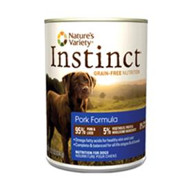 Natures Variety Instinct Pork Canned Dog Food