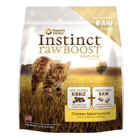 Natures Variety Instinct Raw Boost Chicken Dry Cat Food