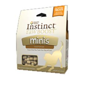 Natures Variety Instinct Raw Boost Duck Minis Dog Treats
