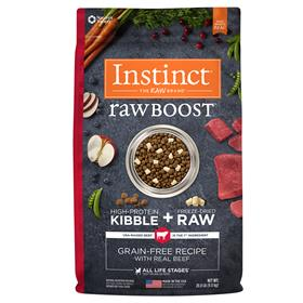 Natures Variety Instinct Raw Boost Grain Free Recipe with Real Beef