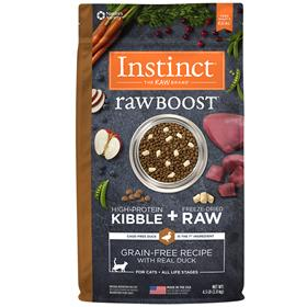Natures Variety Instinct Raw Boost Grain Free Recipe with Real Duck for Cats