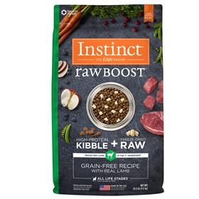Natures Variety Instinct Raw Boost Grain Free Recipe with Real Lamb
