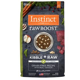 Natures Variety Instinct Raw Boost Grain Free Recipe with Real Venison