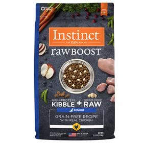 Natures Variety Instinct Raw Boost Senior Grain Free Recipe with Real Chicken