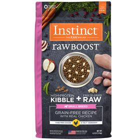 Natures Variety Instinct Raw Boost Small Breed Grain Free Recipe with Real Chicken