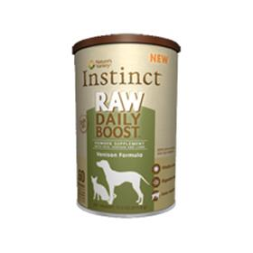 Natures Variety Instinct Raw Daily Boost Venison Formula