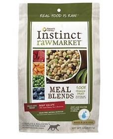 Natures Variety Instinct Raw Market Beef Meal Blends