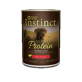 Natures Variety Instinct Ultimate Protein Beef Canned Dog Food