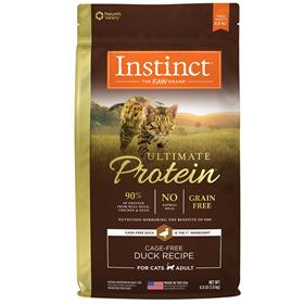 Natures Variety Instinct Ultimate Protein Cage Free Duck Recipe for Cats
